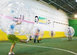 バブルサッカー ラモス