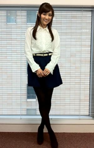 岩本乃蒼アナ モデル