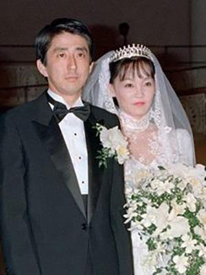 安倍昭恵 アッキー 安倍総理 結婚