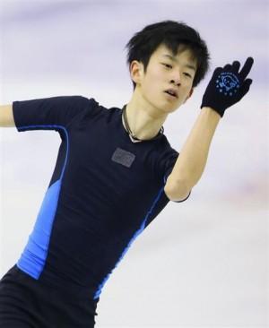 全日本フィギュア2016 山本草太