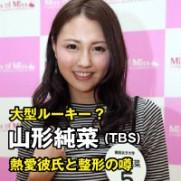 山形純菜 TBS アナウンサー